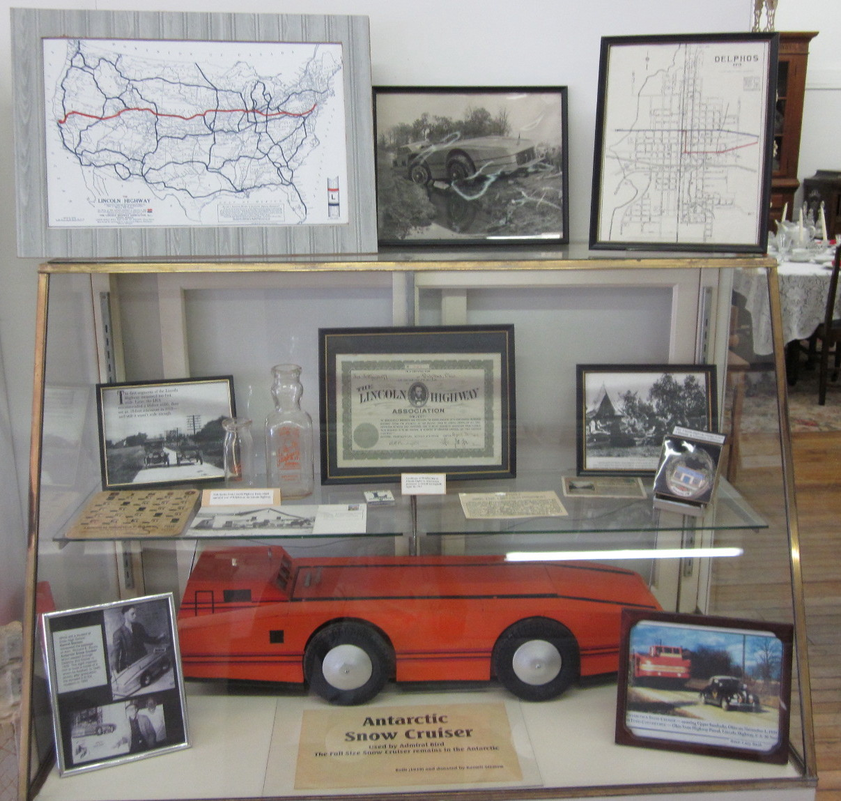 Admiral Byrd S Snow Cruiser And The Lincoln Highway