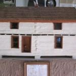 1870 Log House Model