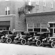 Lybarger Motor Car Company, which later became Gerdeman-Swick Motor Sales, was located at 112 N. Main Street and sold Studebakers
