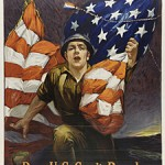 World War I poster encouraging citizens to buy Liberty Bonds.
