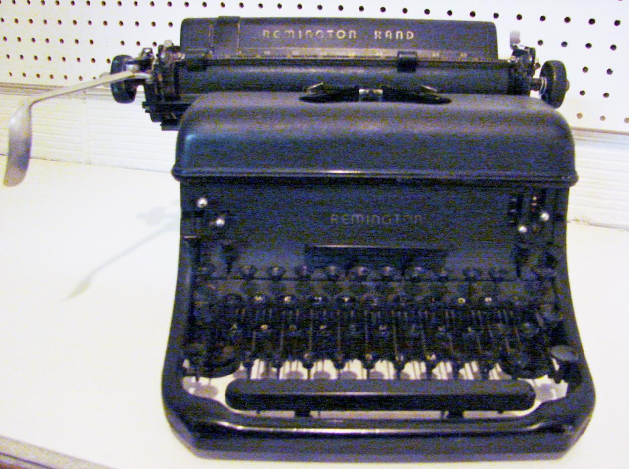 Typewriters and Guns?